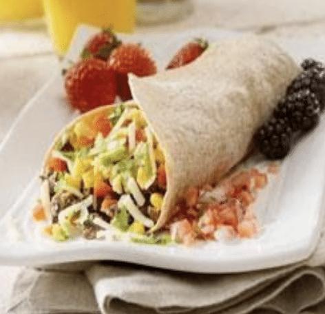black bean taco