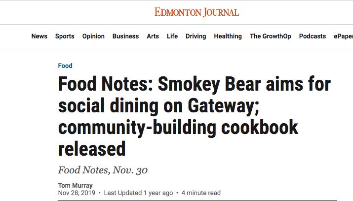 Cookbook Conversation