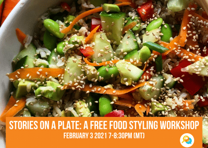 Stories on a plate: Free workshop on food styling recap